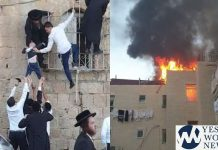 Children Rescued From Jerusalem Apartment Fire, No Injuries Reported