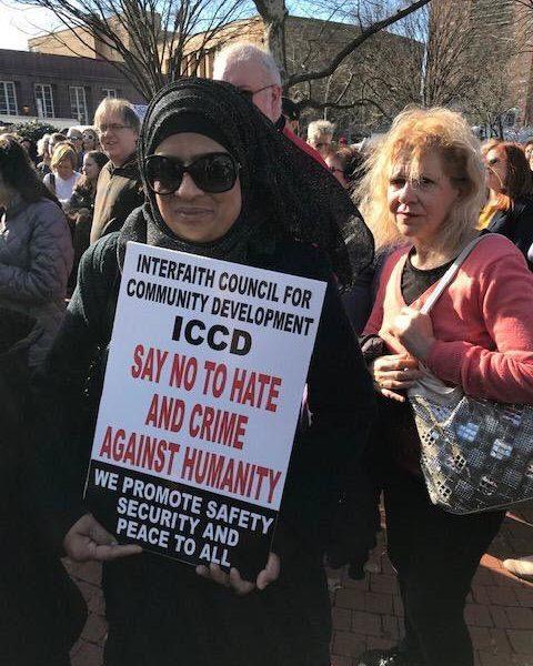 New Yorkers rally against anti-Semitism at MacDonald Park